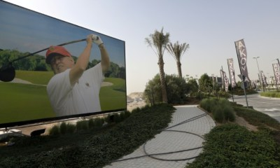 Donald Trump Playing Golf