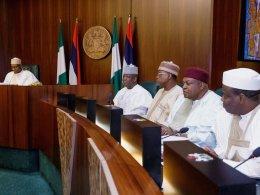 Buhari and State Governors
