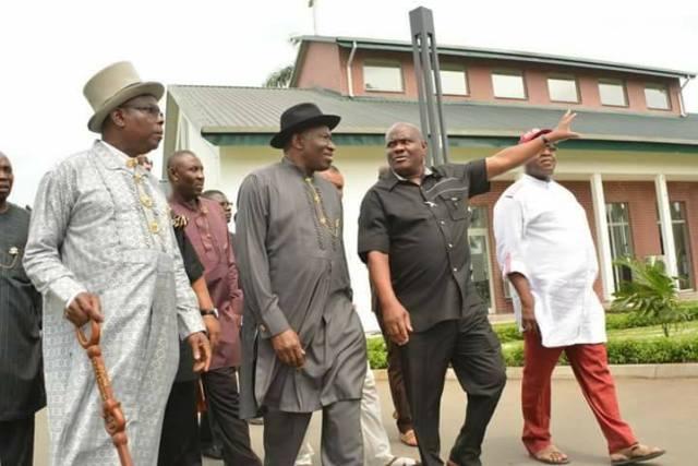 Goodluck Jonathan and Rivers State Governor