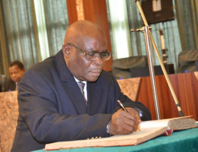 Chief Jusitce of Nigeria, CJN, Justice Walter Onnoghen