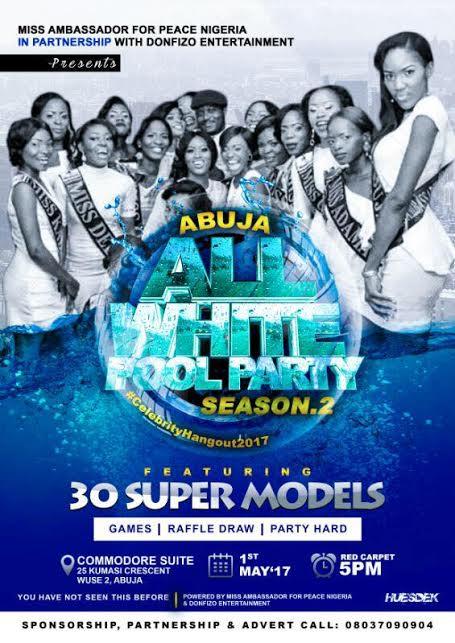 Abuja All White Pool Party 2