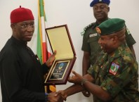Okowa and Major General Ene Udoh