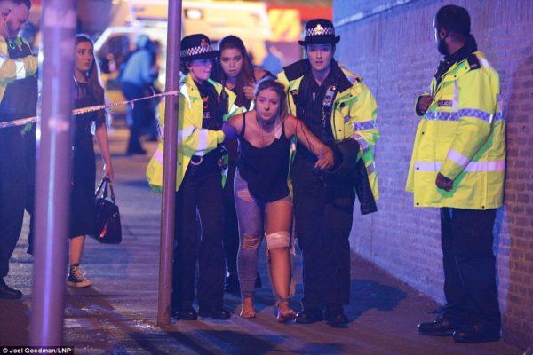 UK Concert Suicide Attack