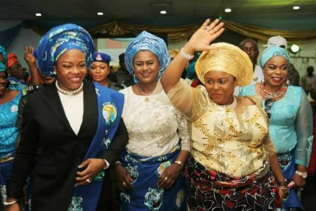Justice Eberechi Suzzette Nyesom-Wike and Patience Jonathan