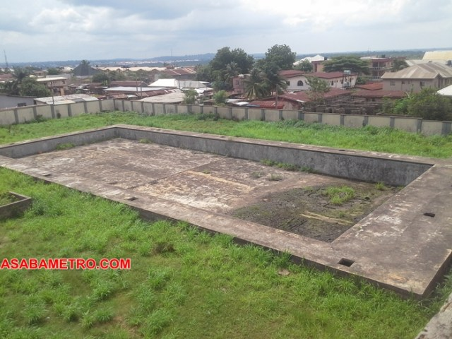 Abandoned Asaba Stadium Swimming Pool