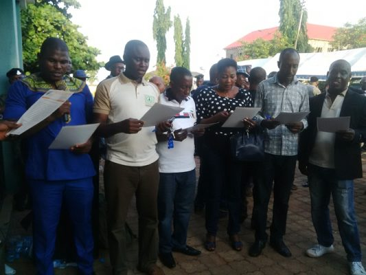 Delta State NUJ Executives