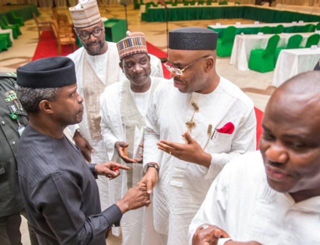 Osinbajo and Nigeria Governors