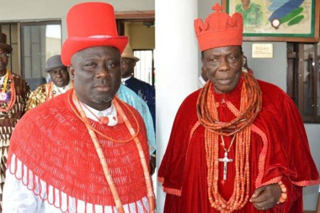 Sheriff Oborevwori and Oroje of Okpe
