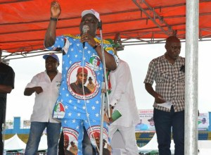 Sheriff Oborevwori at Delta PDP Mega Rally