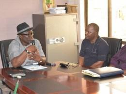 Speaker Sheriff Oborevwori and NASS