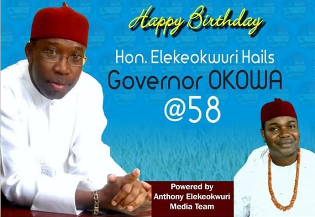 Elekeokwuri Congratulates Okowa