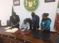 Okowa Signs Bills into Law