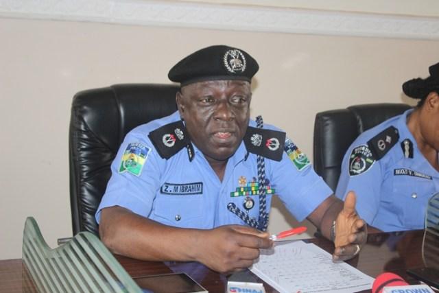 Commissioner of Police, Zanna Ibrahim