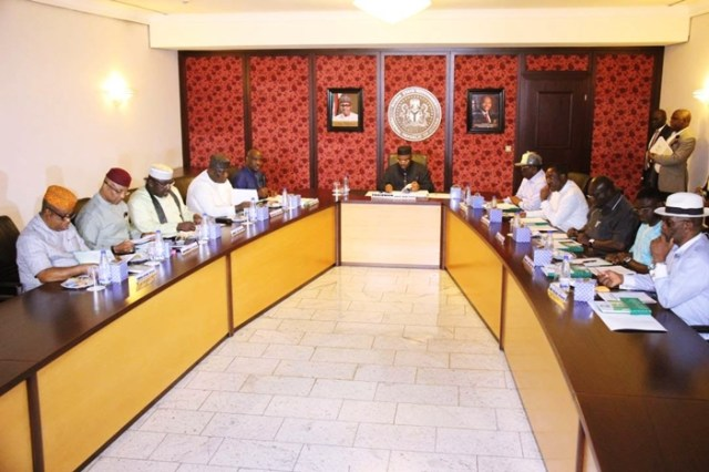 Meeting of South-South and South-East Governors of Nigeria
