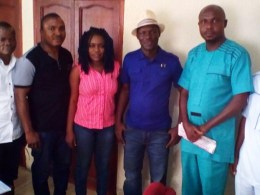 Sheriff Mulade talks Niger Delta with Journalists