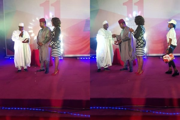 Elekeokwuri Honoured by Nigeria Media Nite Out Award