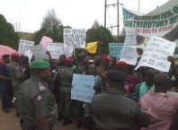 Police Prevents Pensioners Protesters in Delta State