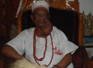 Iyase of Asaba - Chief Patrick Isioma Goodluck Onyeobi