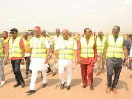 Delta State House of Assembly Committee on Works Inspects Asaba International Airport