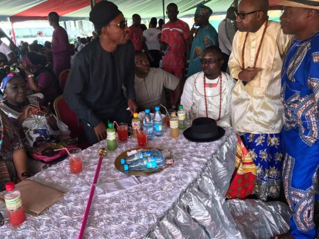 Delta Lawmakers Commiserates with Tim Owhefere on the Burial of his Elder Sister