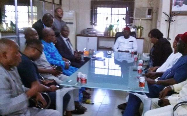 Commissioner Chinye Meets with Staff of Culture and Tourism