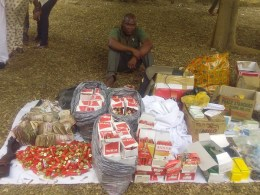 Suspected Kidnapper and Gun Runner Rev. Ignatius Ogboi Arrested by Delta Police