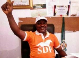 Hon. Oke Idawene, Delta State Chairman, Social Democratic Party, SDP