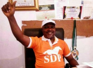 Hon. Oke Idawene, Delta State Chairman, Social Democratic Party, SDP
