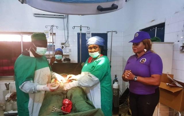Jesu Marie Empowerment Foundation, JMEF Free Surgery at Ekpan Central Hospital, Uvwie