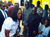 Mike Ogwah Welcomes Delta Fisrt Lady, Dame Edith Okowa to Isoko North