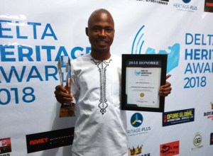 Ossai Ovie Success Bags Most Outstanding Youth Award from the 2018 Delta Heritage Awards