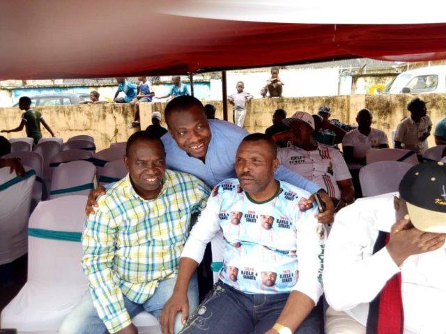 Andrew Igban with Ejele
