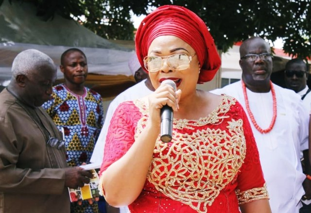 Hon.Angela Nwaka, Member Representing Aniocha South Constituency in the Delta State House of Assembly