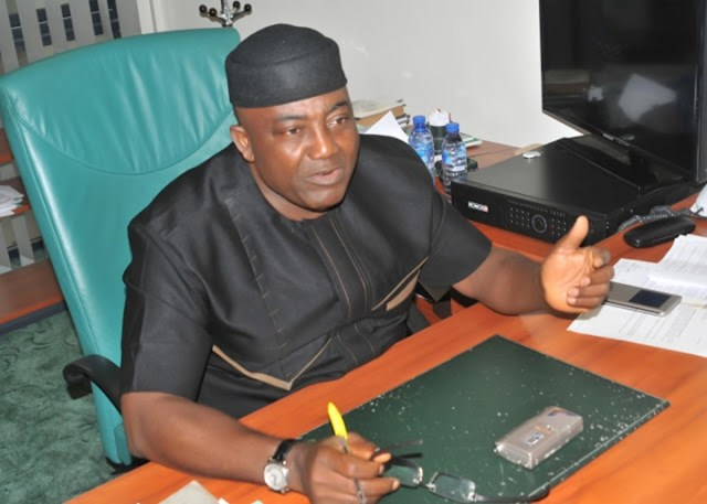 Hon. Leo Ogor, Minority Leader, Federal House of Representatives