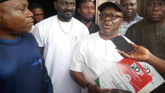Mike Ogwah PDP Nomination Form (2)