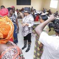 Angela Nwaka Visits Aniocha South Flood Victims