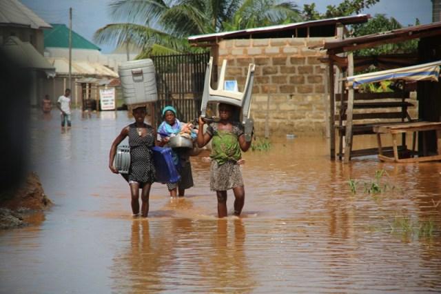 Flood Ravaged Communities in Delta State