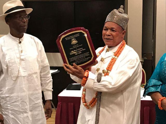 King Ayemi-Botu Bags 2018 INAA Award