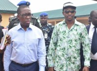 Delta State Governor, Dr. Ifeanyi Okowa and Rt. Hon. Friday Osanebi