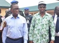 Delta State Governor, Dr. Ifeanyi Okowa and Rt. Hon. Friday Osanebi