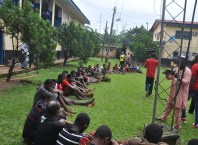 72 suspected Cultists, Kidnappers, Armed Robbers Paraded by Police in Benin City, Edo State