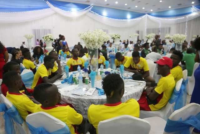 Cranes of Uganda at Delta State Government House