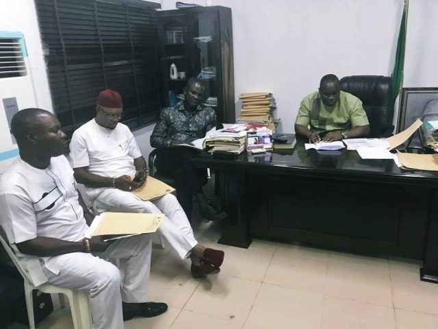 Delta State House of Assembly Committee on Urban Renewal, Led by Hon Oboro Preyor
