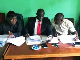 Delta State House of Assembly Committee on Health led by Hon Alphonsus Ojo (left)