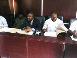 Delta State House of Assembly Committee on Commerce and Industry, Led by Hon Festus Okoh