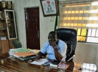 Hon. Godknows Angele, Chairman, Burutu Local Government Area.