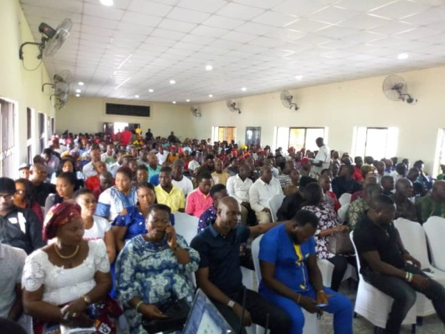 Members of Isoko Nation For Okowa (INFO)