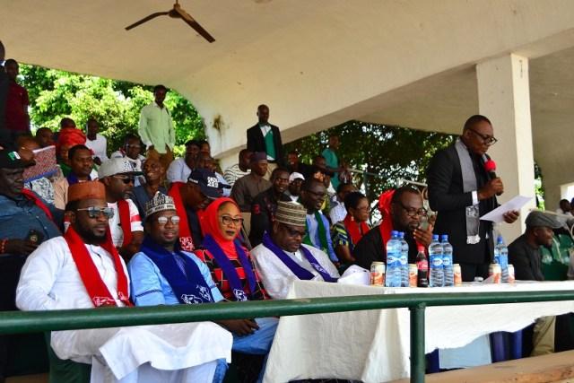 Pastor Azuka Onyebo, Chairman, Atiku We Know, Atiku We Trust, Delta State Chapter.