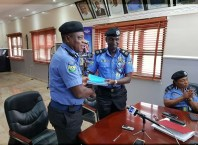 CP Anthony Michael Ogbizi Takes Over From CP Muhammad Mustafa as Commissioner of Police Delta State Command