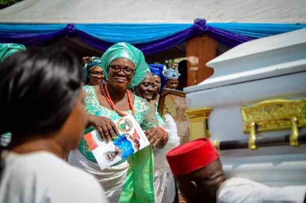 Late Ezinne Patricia Nwaeke-Nwanyaha Laid to Rest